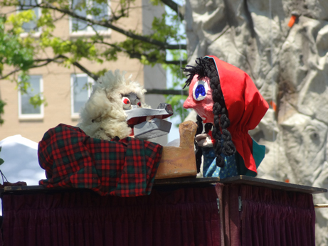 Little Red Riding Hood Puppet Show